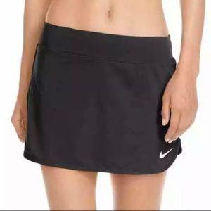 Nike Dri-fit Women's Black Tennis Skirt w/Shorts